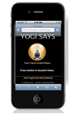 Download your Yogi Says iphone app today