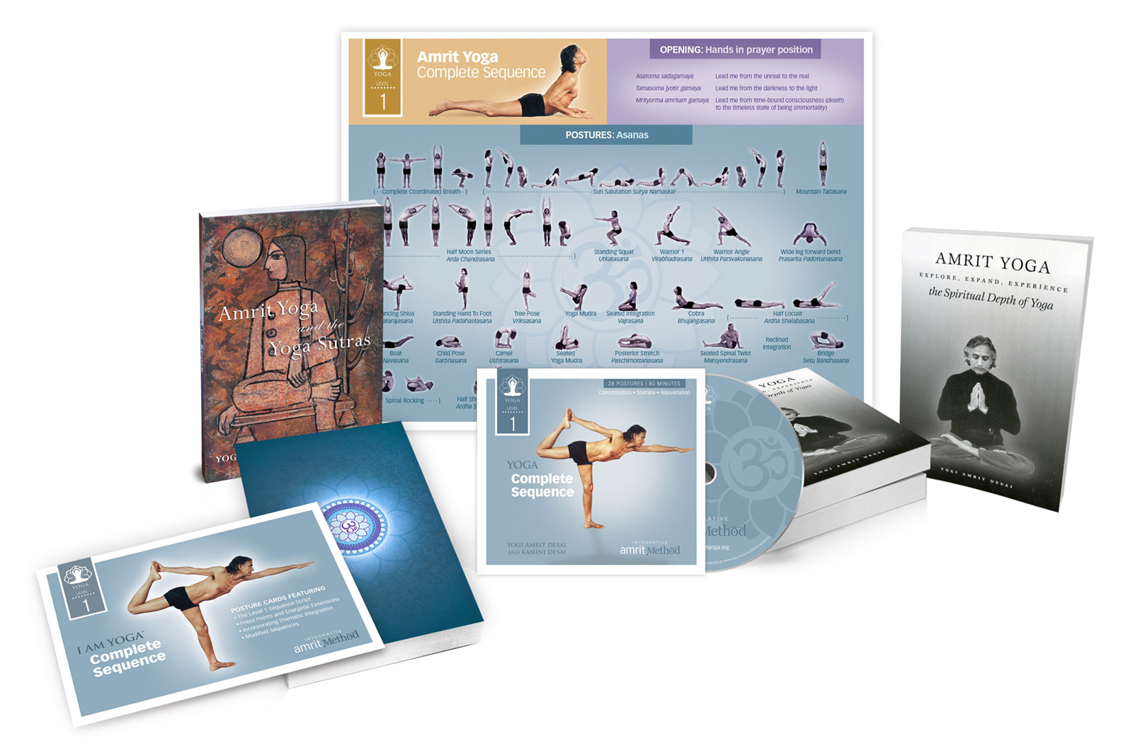 Amrit Yoga Institute Teacher Training Kit