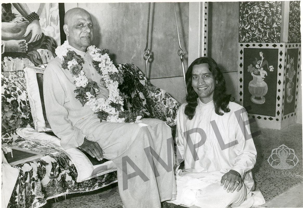 Swami Kripalu and Yogi Amrit Desai