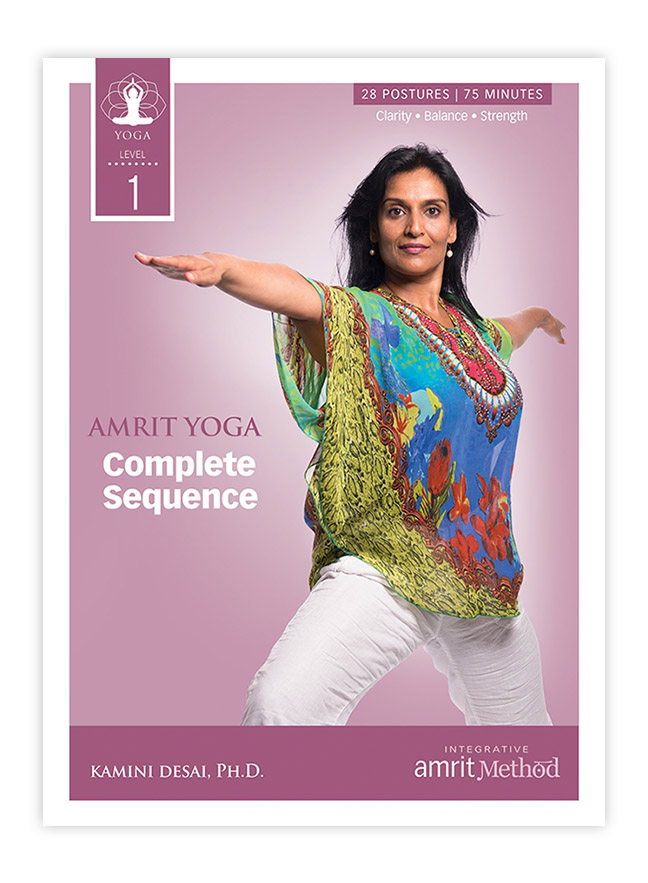 Yoga – Amrit Yoga Complete Level 1 Sequence with Kamini Desai