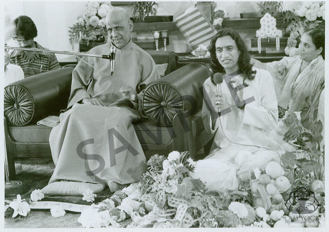 Yogi Amrit Desai and Swami Kripalu