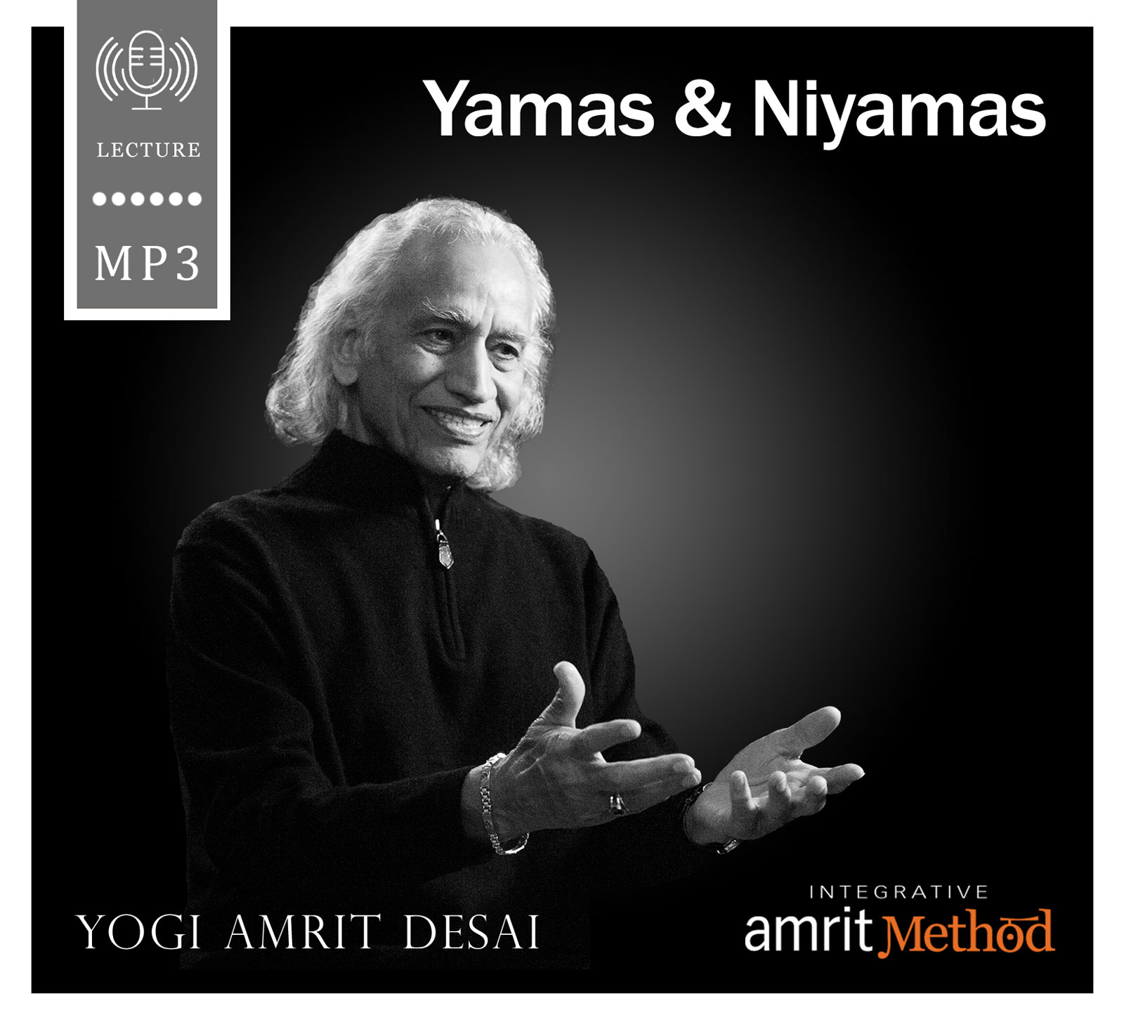 The yamas and niyamas are the guiding principles that are the basis of hatha and raja yoga. Yogi Amrit Desai interprets these powerful guidelines for daily conscious living to assist us in identifying and eliminating unconscious conflicts and blockages that serve as obstacles in our spiritual path and prevent us from achieving balance. The yamas and niyamas are the first two limbs of the eightfold yogic path as taught by Patanjali, the first to record yogic practices circa 200 B.C. Yogi Desai interprets these guidelines and explains that the purpose of the yamas and niyamas is to eliminate disturbances and conflicts that come from both within and without. The science of yoga is applied in our lives through the examination of our unconscious patterns, beliefs and a behaviors and their consequences. Observing the disciplines Patanjali outlines allows us to see and accept ourselves where we are now while simultaneously bringing us into alignment with our intentions. Sincere practice of the yamas and niyamas will eventually remove the obstacles that veil the spirit within. Originally recorded on May 5, 2003 in Canon City, Colorado. Duration: 70 minutes