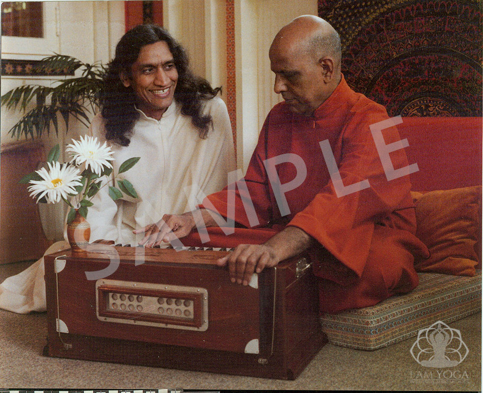 Swami Kripalu and Yogi Amrit Desai