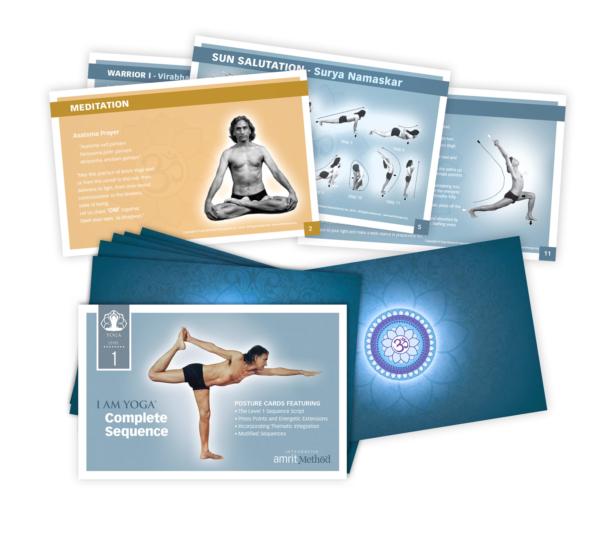 Amrit Yoga Posture Cards